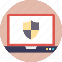 antivirus, cyber security, internet security, internet security shield, network security icon