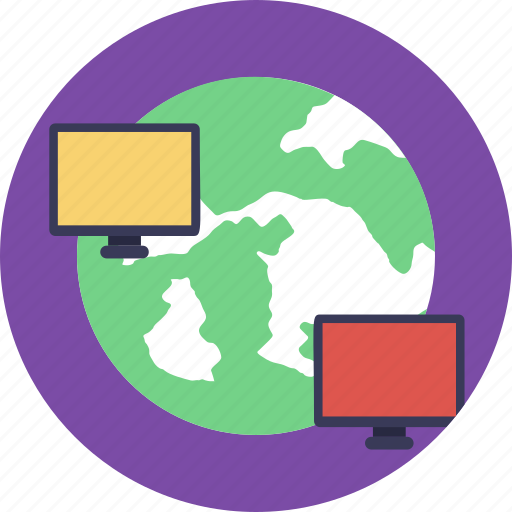 computer network, cyberspace, internet, world wide web, www icon
