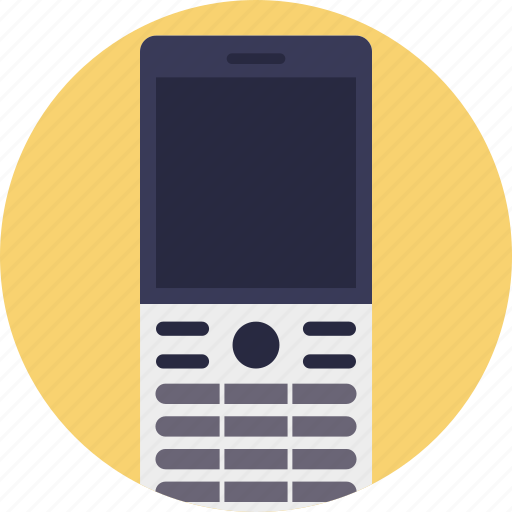 cell phone, cellular phone, cellular telephone, mobile phone, mobile telephone icon