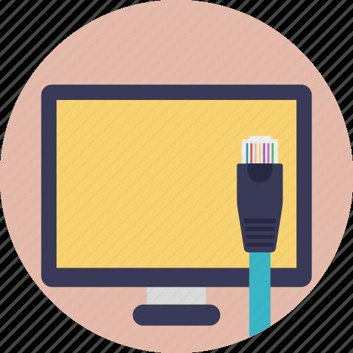 broadband internet connection, digital subscriber line, dsl internet, internet access, internet service icon