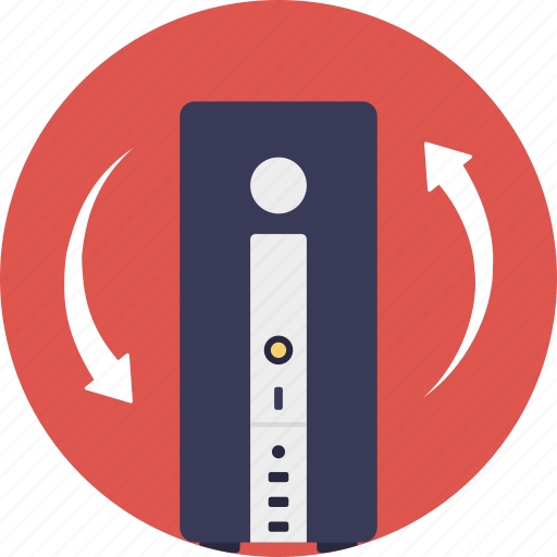 communication technology, computer technology, information management, information retrieval, information technology icon