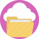 cloud data, cloud files, cloud information, cloud storage icon
