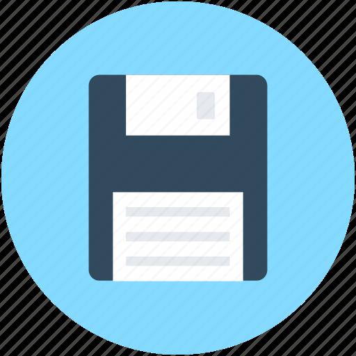 Diskette, floppy, floppy disk, floppy drive, storage device icon - Download on Iconfinder