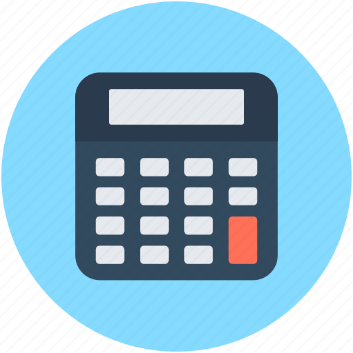 Accounting, calculating device, calculator, digital calculator, office supplies icon - Download on Iconfinder