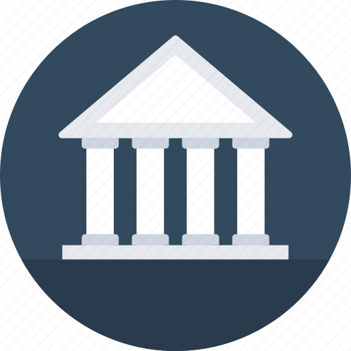 Architecture, bank, bank building, building, real estate icon - Download on Iconfinder