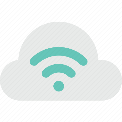 cloud network, network, wifi, wifi cloud, wireless icon
