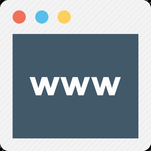 internet, url, website, world wide web, www icon