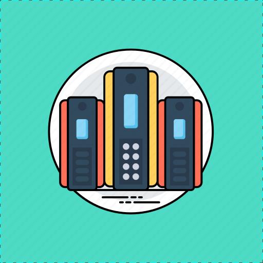 backup system, data recovery, data storage, database, server icon