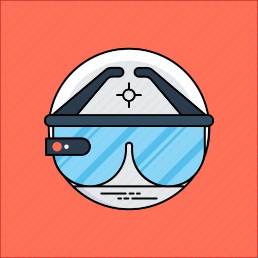 virtual reality glasses, virtual reality goggles, virtual reality headset, vr glasses, vr wearable icon