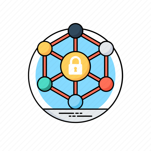 cyber security, data security, digital security, information security, network security icon