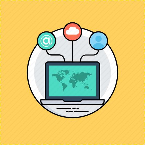cyberspace, internet, net, web, world wide web icon