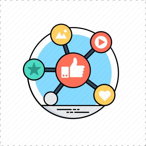 customer satisfaction, feedback, online evaluation, online reviews, positive feedback icon