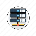 data center, hosting, hosting network, server hosting, web hosting icon