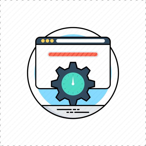 web services, web-page loading, webpage progress, website loading, webspeed icon