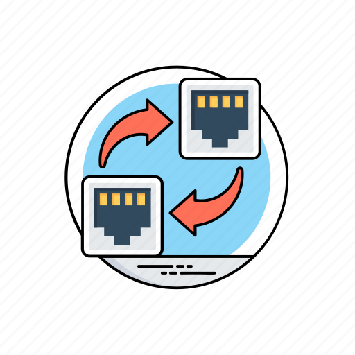computer network, computer networking interface, computer sharing, group of computers, local area network icon