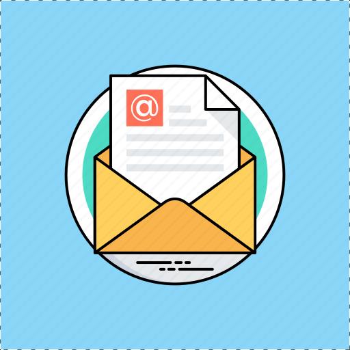 e-message, email, marketing, sending email, web communication icon