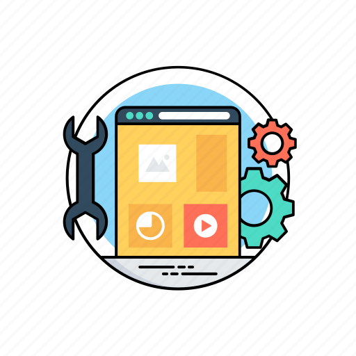 app programming, applications, software, software management, web development icon