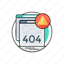 404 error message, 404 not found, http 404, network access denied, network error icon
