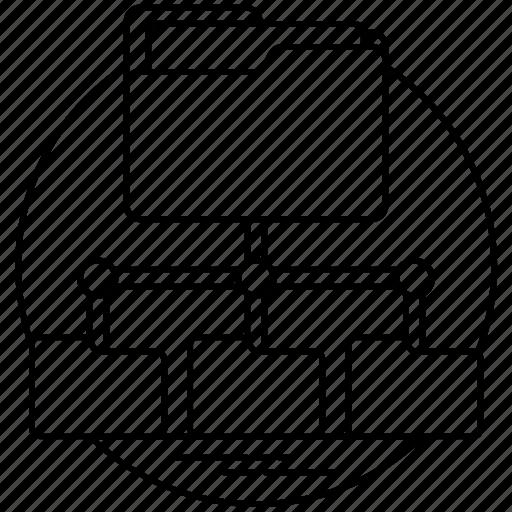 Network Server Diagram Icon