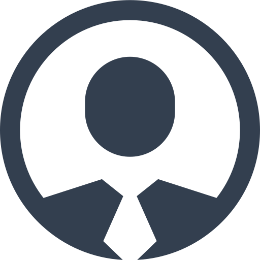 avatar, badge, business, circle, human, id, male, man, people, person, profile, user icon