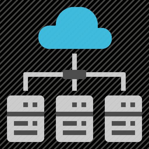 Computer, data, online, cloud, server icon - Download