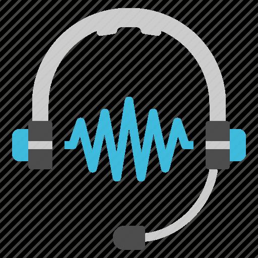 communication, earphone, hardware, headphone, music icon