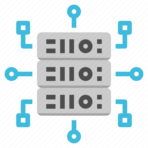 computer, connect, database, online, server icon