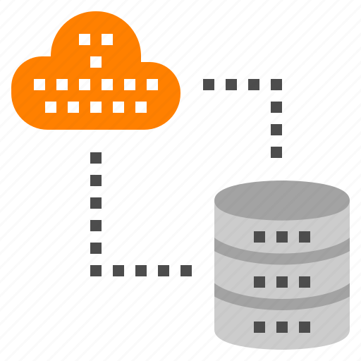 cloud, computer, database, network, server icon