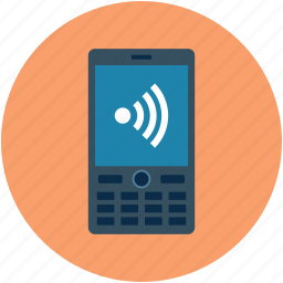 cell phone, cellular phone, internet availability, internet connectivity, mobile, mobile phone icon