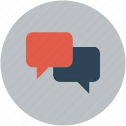 chat, chatting, messaging, notifications, texts icon