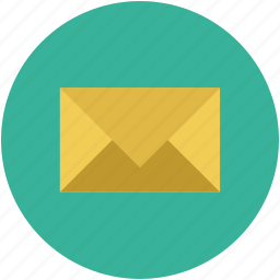 email, envelope, letter, mail, post, postal mail icon