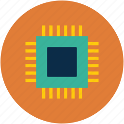central processing unit, cpu, internet, processor icon