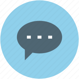 chat, chatting, notification, text, text message icon