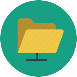computer folder, file, file folder, folder, storage icon