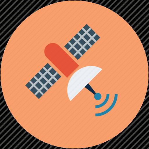 antenna, satellite, satellite antenna, space icon