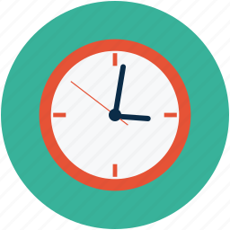 clock, time, timepiece, timer, wall clock icon