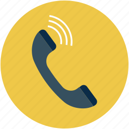 communication, phone, phone receiver, talking, telephone, telephone receiver icon