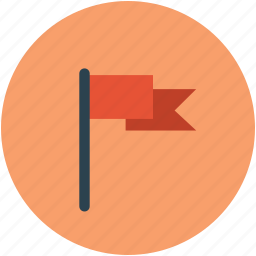emblem, flag, insignia, mark, sign icon
