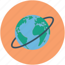 earth, globe, orbit, planet, solar system, universe icon