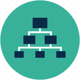 chain, connection, contacts, hierarchy, network, networking icon