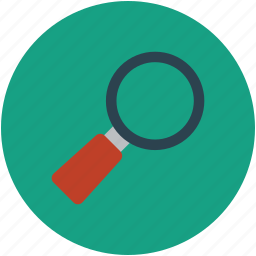 inspection, magnifier, magnifying, magnifying glass, search, zoom icon