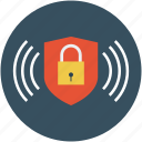 lock, locked, protected, safe, secure, shield icon