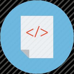 coding, html, language, programming icon