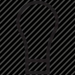 bulb, electric bulb, electric light, light, light bulb icon