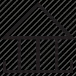 casement, dormer, dormer window, window, window case icon