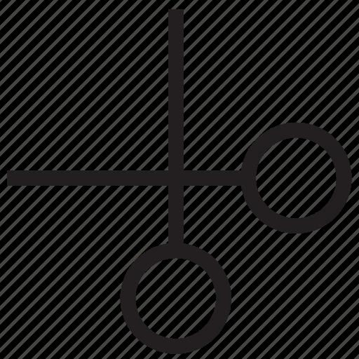 cut, cutting symbol, cutting tool, edit, edit sign, scissor, tool icon