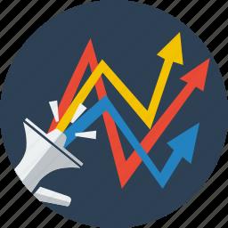 advertising, adwords, campaign, marketing, optimization, seo, web icon