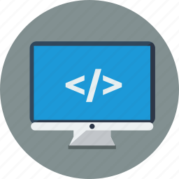 code, coding, custom, marketing, seo, web icon