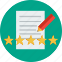 user, customer, business, reviews, people, marketing icon