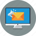 communication, email, envelope, internet, mail, marketing icon